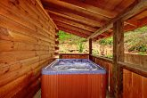 Hot Tub at Cabin