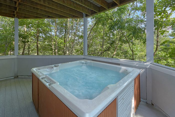 8 Bedroom Cabin with Private hot tub on deck - Chalet Mignon