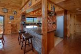 Gatlinburg Cabin Rental with KItchen and Bar