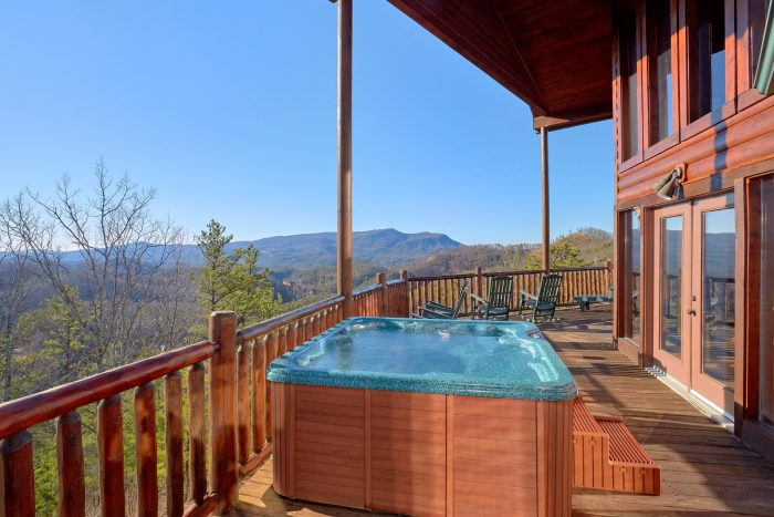 Spectacular Views From The Hot Tub - Cherokee Hilltop