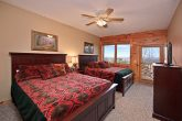 Bedroom with Two Queen Beds in Gatlinburg