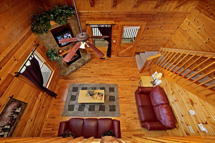 Cabin with Open Main Floor Plan - Cool Like Jazz
