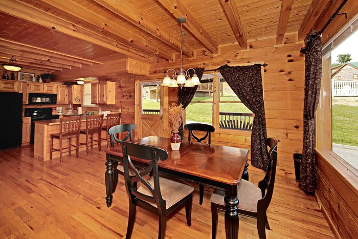 Cabin with Dining Room Table - Cool Like Jazz