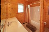 King Bedroom with Shower/Tub Combo