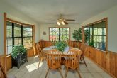 Cabin with Spacious Dining Room and Sun Room