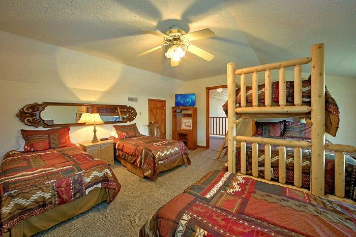 6 bedroom cabin rental near pigeon forge sleeps 18