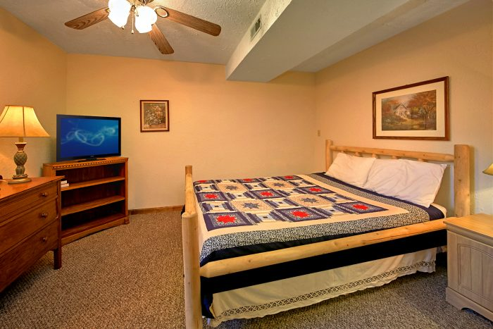 6 bedroom cabin rental near pigeon forge sleeps 18