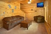Cabin with Game Room downstairs