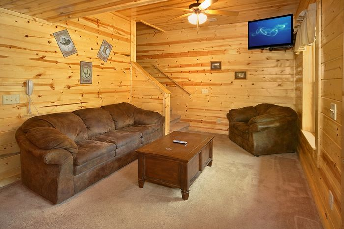 Cabin with Game Room downstairs - Cowboy Up