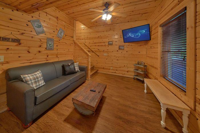 Hot Tub on Back Deck - Cowboy Up