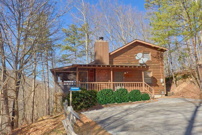 Cozy Hideaway Cabin Rental Photo