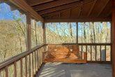 Deck with Swing 3 bedRoom Cabin