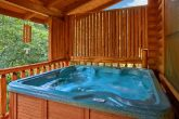 Premium Cabin with Private Hot Tub on Deck