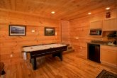 Cabin with Air Hockey in the Game Room
