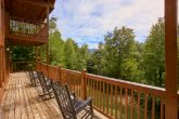 Premium Cabin Rental with Rocking Chairs & View