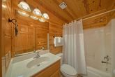 Queen Sized Bed in Cabin