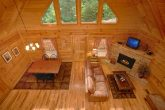 3 Bedroom Cabin with Living Area and Fireplace