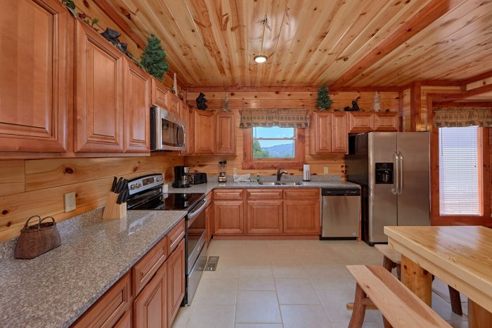 5 Bedroom Cabin with a Fully-Equipped Kitchen - Dive Inn