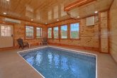 Cabin with an Indoor Pool on the Main-Level