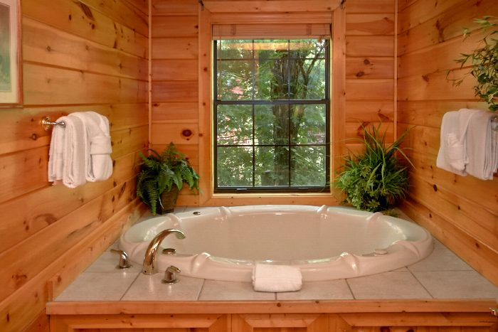 Luxury 4 Bedroom Cabin with Jacuzzi Tub - Dogwood Retreat
