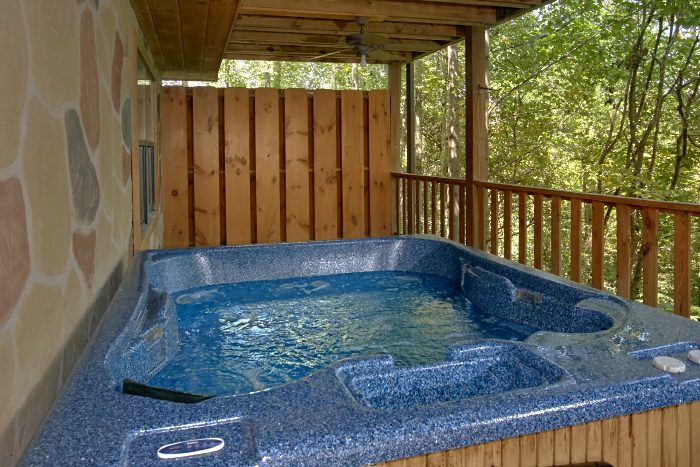 4 Bedroom Cabin with Private Hot Tub and Deck - Dogwood Retreat