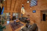 Spacious Living Room in 4 Bedroom Cabin