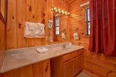 cabin with wooded view and pet friendly