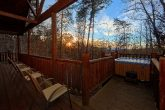 Luxury 1 Bedroom Cabin with Hot Tub and a View