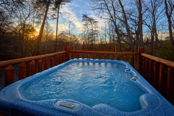Spacious 1 Bedroom Cabin with Hot Tub - Dutch's Den