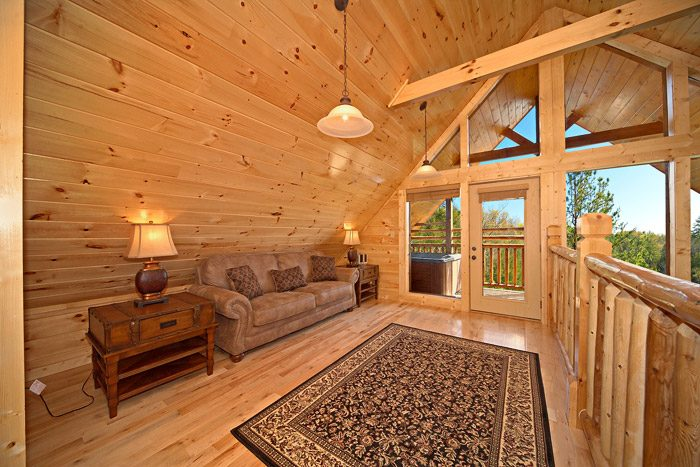Cabin with Loft and Views - Easy Like Sunday Morning