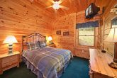 Cabin with Queen Bedroom with TV
