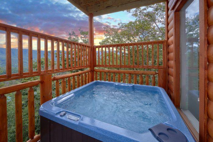 Premium Cabin with Hot Tub and Indoor Pool - Elk Ridge Lodge