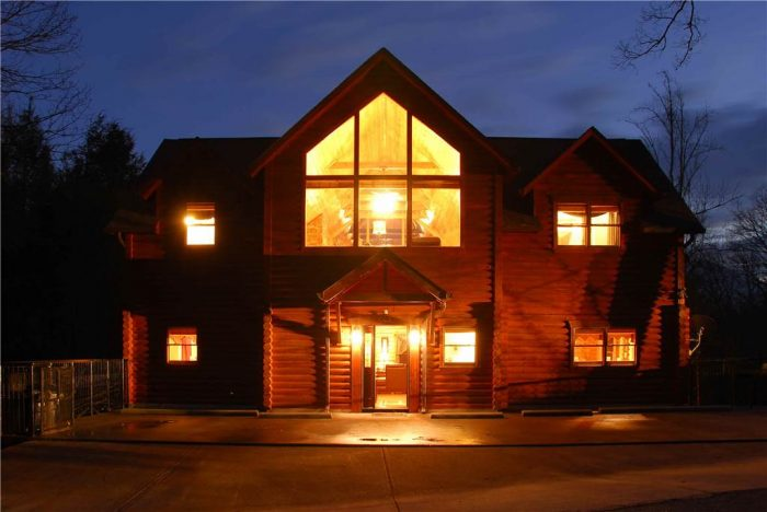 elkhorn luxury large luxury gatlinburg cabin rental