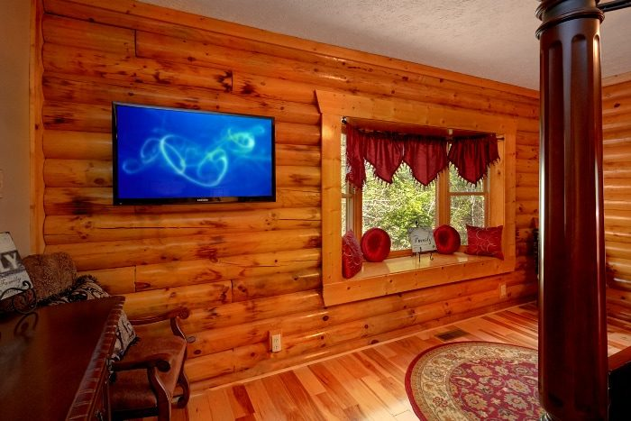 5 Bedroom Cabin Sleeps 14 All Flat Screen TV's - Elkhorn Lodge