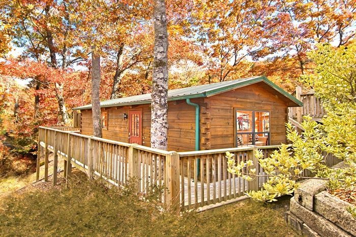 Enchanted Moment Cabin Rental Photo