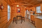 Honeymoon cabin with dining nook