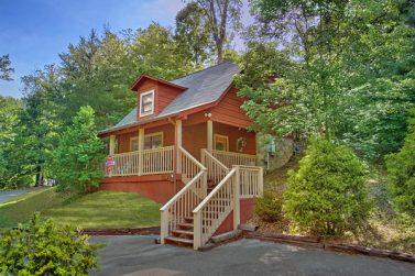 1 bedroom cabins in gatlinburg tn smoky mountains for Smoky mountain ridge cabins