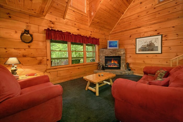 1 bedroom cabin with fireplace - Enchantment