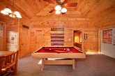 Spacious Cabin Rental with a Pool Table