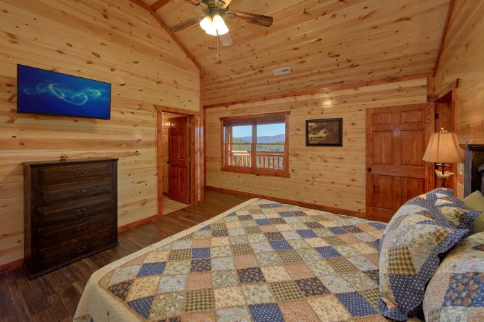 6 Bedroom Cabin Sleeps 14 All Flat Screen TV's - Family Fun Pool Lodge 1