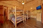 Large 6 Bedroom Cabin Sleeps 14 with Kids Room