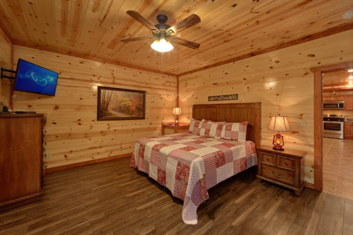 Beautifuls 6 Bedroom Cabin Sleeps 14 - Family Fun Pool Lodge 1