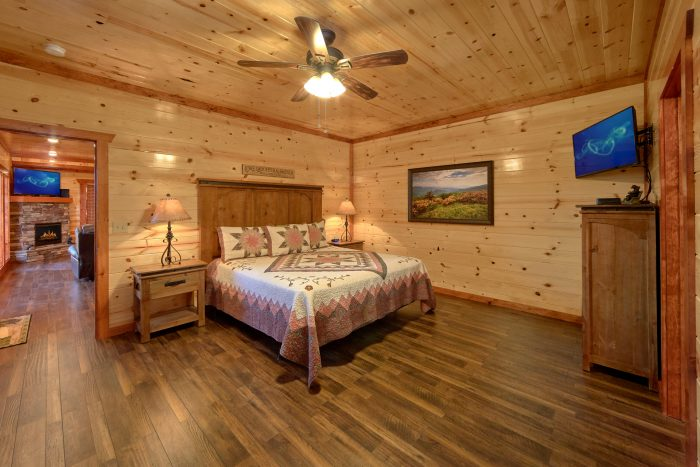 Luxurious 6 Bedroom Cabins Sleeps 14 - Family Fun Pool Lodge 1