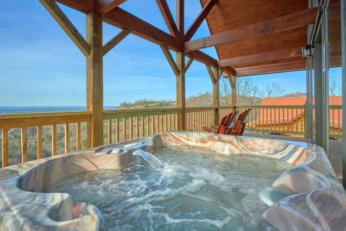 Hot Tub with Spectacluar Views - Fifty Mile View