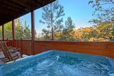 Luxury 4 bedroom cabin with Hot tub and Views