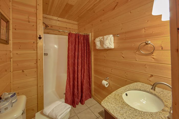 Hidden Springs 4 Bedroom Cabin Rental - Fleur De Lis