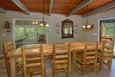 3 Bedroom Cabin with Dining Room for 12
