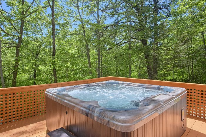 3 Bedroom Cabin with 2 Hot Tubs on deck - Forever Country