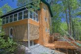 Rustic 3 Bedroom Cabin with 2 Hot Tubs