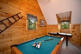 Game Room with Air Hockey and Pool Table